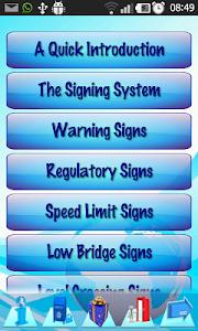 Driving  Rules & Traffic Signs screenshot 3
