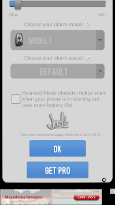 Anti Theft Alarm Pro Motion screenshot 6