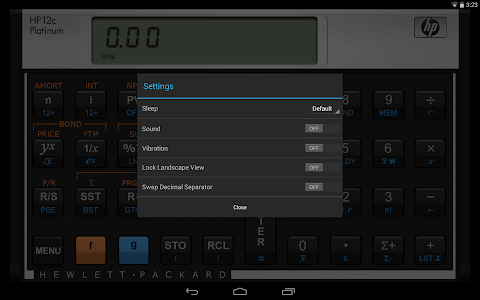HP 12C Platinum Calculator screenshot 5