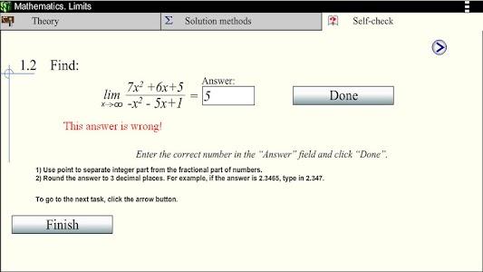 Math.Limits screenshot 5