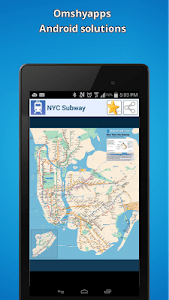 New-York city subway map (NYC) screenshot 0