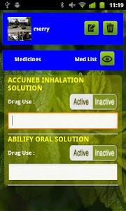 MedAssist QuickList-Meds,Pills screenshot 2