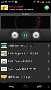RADIO BRAZIL screenshot 1