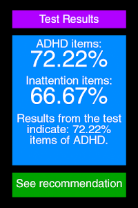 ADHD Test screenshot 13