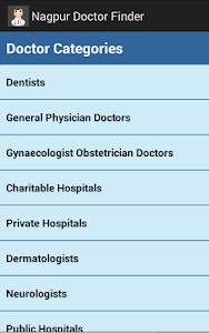 Nagpur Doctor Finder screenshot 1
