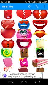 emoji love screenshot 0