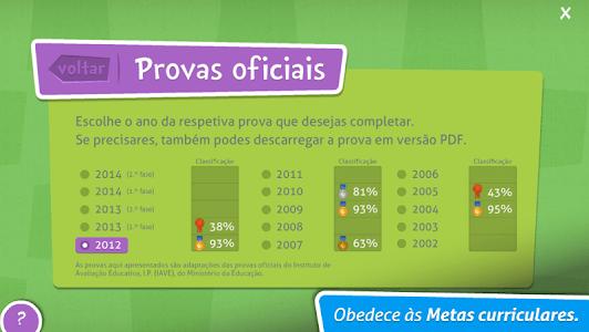 Provas Finais Português screenshot 1