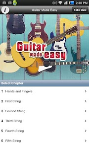 Guitar Made Easy screenshot 0