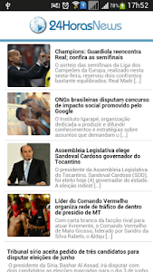 24 Horas News - Mato Grosso screenshot 1