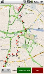Dublin Bus GPS screenshot 0