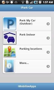 iPark Car Lite screenshot 0