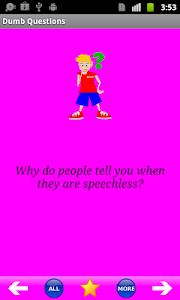 Dumb Questions screenshot 0