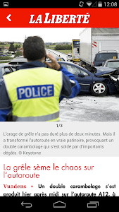 La Liberté mobile screenshot 1