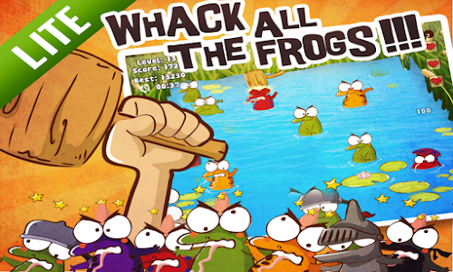 Whack The Frog Lite screenshot 9