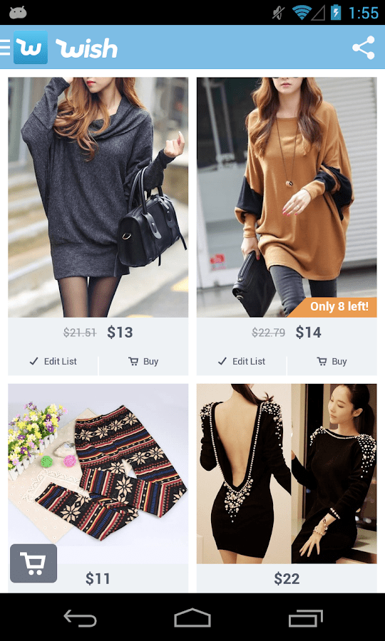 Wishes Online Store Shopping Wish