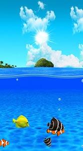 Aqua World HD Free wallpaper screenshot 2