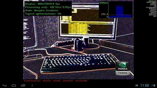 OpenCV for Tegra Demo screenshot 0