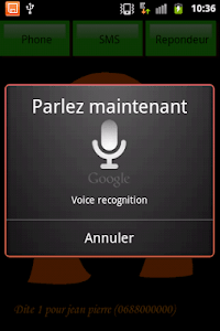 SMS parlant francais screenshot 4