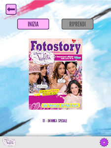 Violetta - Fotostory screenshot 12