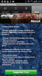 Upward Cheerleading Coach screenshot 1