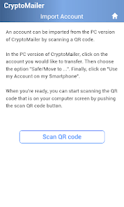 CryptoMailer screenshot 2