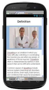 Dysarthria Disease & Symptoms screenshot 1
