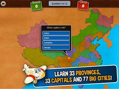 GeoFlight China: Geography screenshot 11