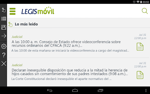 LegisMovil screenshot 4