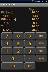 Tip Calculator screenshot 0