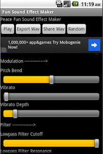 Fun Sound Effect Maker screenshot 1