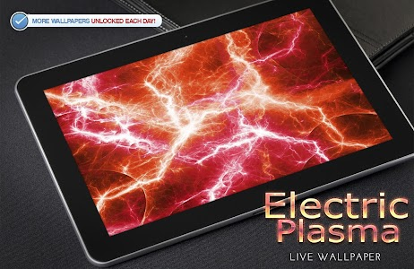 Electric Plasma Live Wallpaper screenshot 5