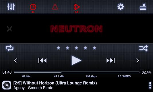Neutron Music Player (Eval) screenshot 16