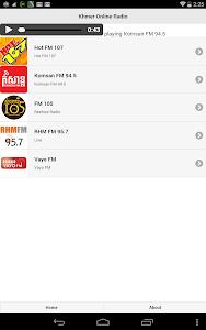 Khmer Online Radio screenshot 1