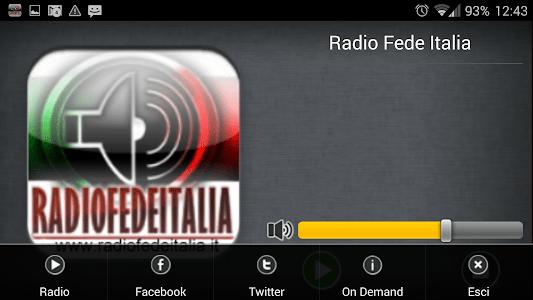 Radio Fede Italia screenshot 8