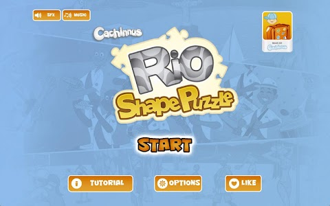 Rio Shape-Puzzle screenshot 0