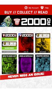 2000 AD Comics and Judge Dredd screenshot 8