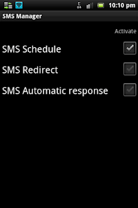 SMS Manager screenshot 0