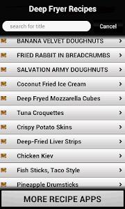 Deep Fryer Recipes screenshot 2