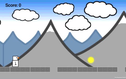 Snowman Runner screenshot 2