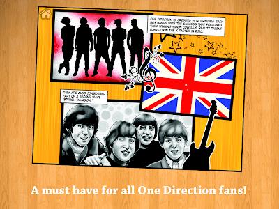 Fame: One Direction Comic Book screenshot 8