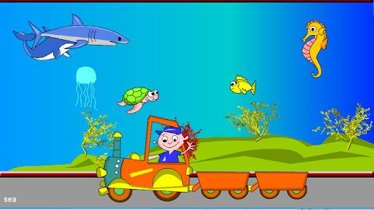 Kids Animal Game-Zoo TrainFULL screenshot 4