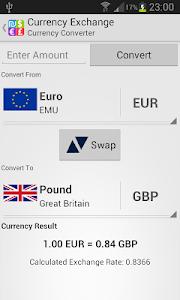 Currency Exchange Rates screenshot 1