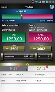 HTI Binary Options screenshot 1