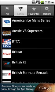 Motorsport Calendar Free screenshot 1