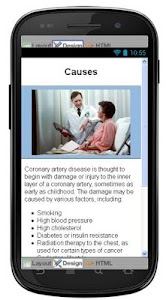 Coronary Artery Information screenshot 3