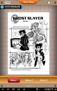 Ghost Slayer Comic screenshot 2