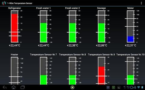 USB Temperature display + log screenshot 0