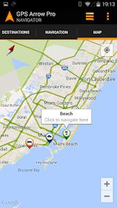 GPS Arrow Navigator PRO – Great app to navigate offline! Use this