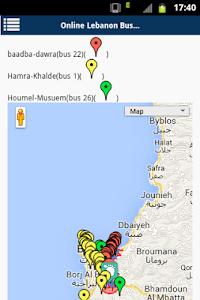 Lebanon buses screenshot 5