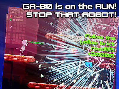 Robot Runner: Ballad of GR-80 screenshot 4